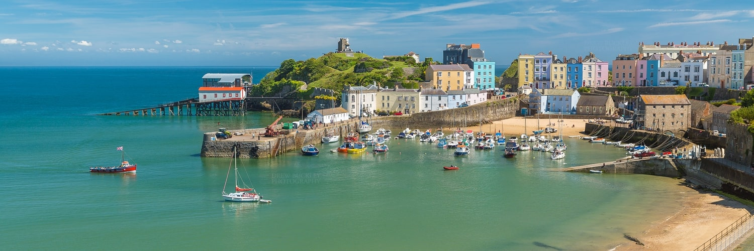 Tenby Harbour Beach - Featured